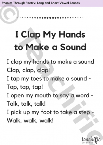 Phonics Through Poetry: Hippity-Hop to the Candy Shop